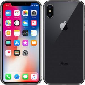"""Með iPhone X þá er framhliðin öll einn skjár. Tækið er með 5,8"""" Super Retina HD skjá með HDR og True Tone horn í horn. Tækið er hannað með einhverju harðgerðasta gleri sem sést hefur í snjallsíma og hágæða umgjörð úr ryðfríu stáli."""