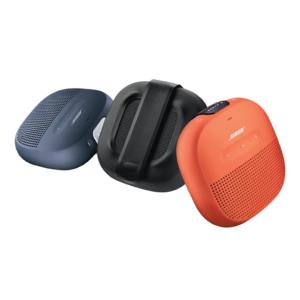 Bose SoundLink Micro hátalari er pínulítill og nettur ferðahátalari, vatnsheldur og sterkbyggður.