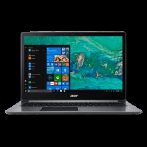 Acer Swift 3 - 2018 lína Acer með nýjustu kynslóð Ryzen örgjörva, öflugt þráðlaust net og Corning Gorilla Glass skjá.