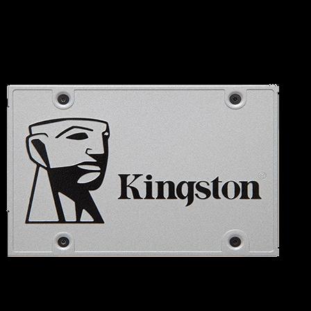 480GB SSD diskur frá Kingston sem er allt að 10 sinnum hraðari en hefðbundinn harður diskur