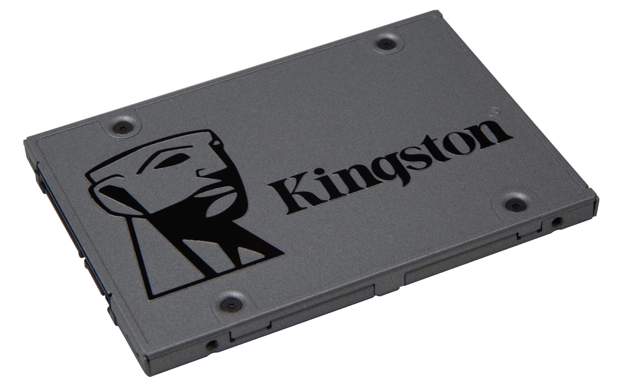 SSD diskur frá Kingston sem er allt að 10 sinnum hraðari en hefðbundinn harður diskur.