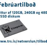 15% afsláttur af SSD diskum í febrúar