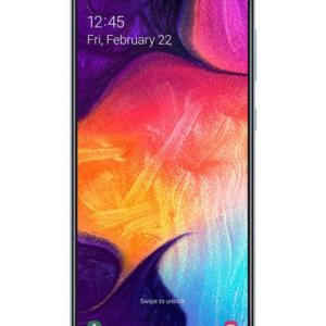 Stór og flottur skjárSamsung Galaxy A50 síminn er með 6,4'' super AMOLED skjá með 1080x2340 pixla upplausn. Einnig er símtækið nú úr sterkri málmblöndu líkt og stærri Samsung símtækin og því harðgerðara en áður, en á sama tíma fallegt í hendi.