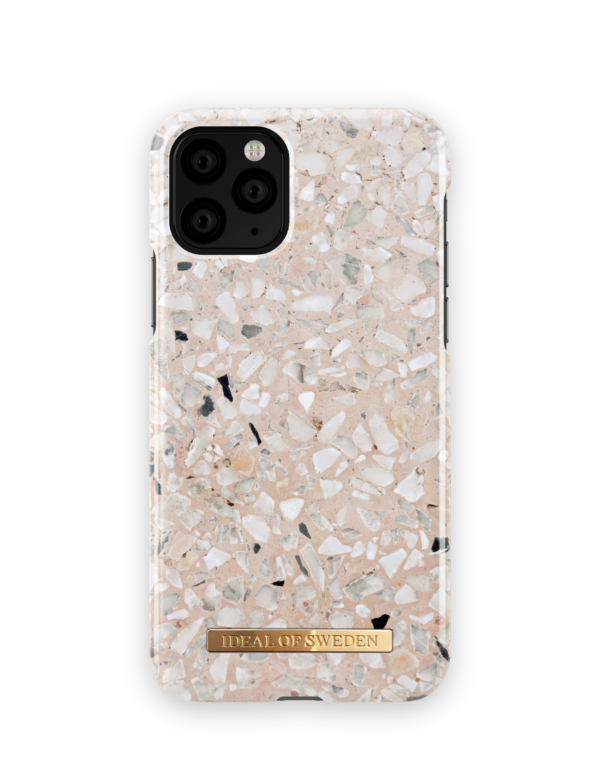 iDeal Fashion Case iPhone 11 Greige Terazzo